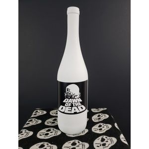 Creepy Halloween dawn of the dead centerpiece vase